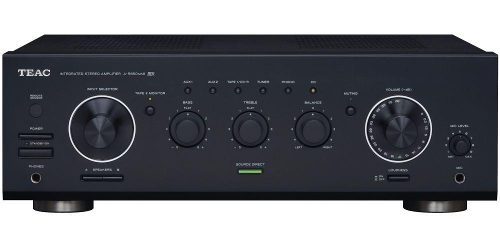 teac a r650mkii amplificador estereo 90watios