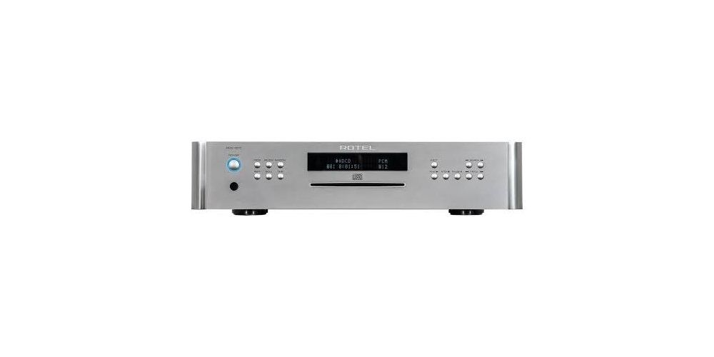 rotel rcd1570silver compact disc