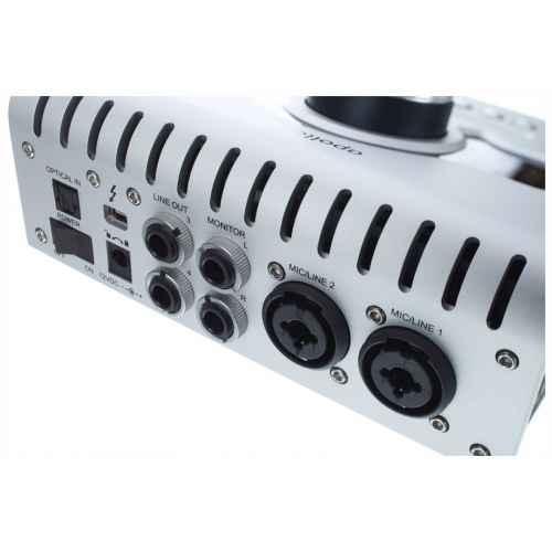 universal audio apollo twin solo conexiones