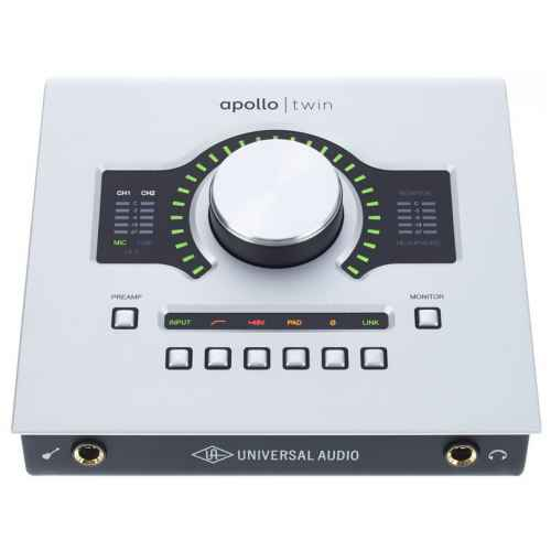 universal audio apollo twin solo frontal