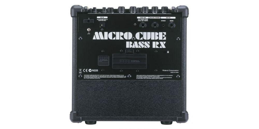back microcube bassrx