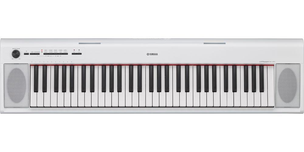 piano yamaha np12blanco