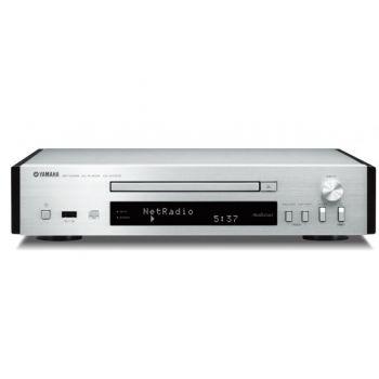 Yamaha CDN-T670 SILVER Compact Disc con Conexion de Red.