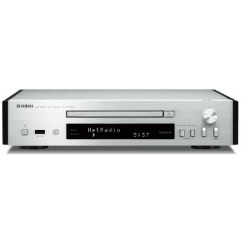 Yamaha CDN-T670 Dab SILVER Compact Disc con Conexion de Red.