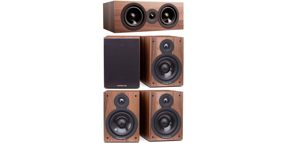 cambridge SX50 Walnut cinema pack altavoces sx50 sx70 sx120