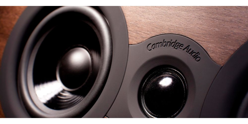 cambridge audio sx70 walnut altavoces