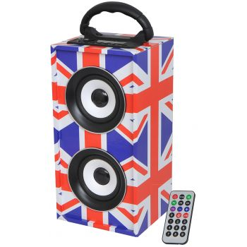 LTC FreeSound-UK Altavoz Bluetooth Con Bateria