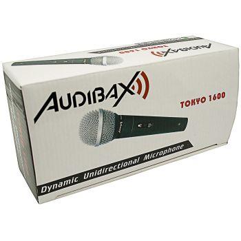 Audibax Tokyo 1600 Micrófono de mano Cardioide cuerpo metalico