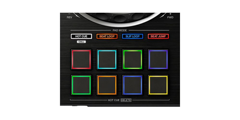 XDJ RX2 performance pads