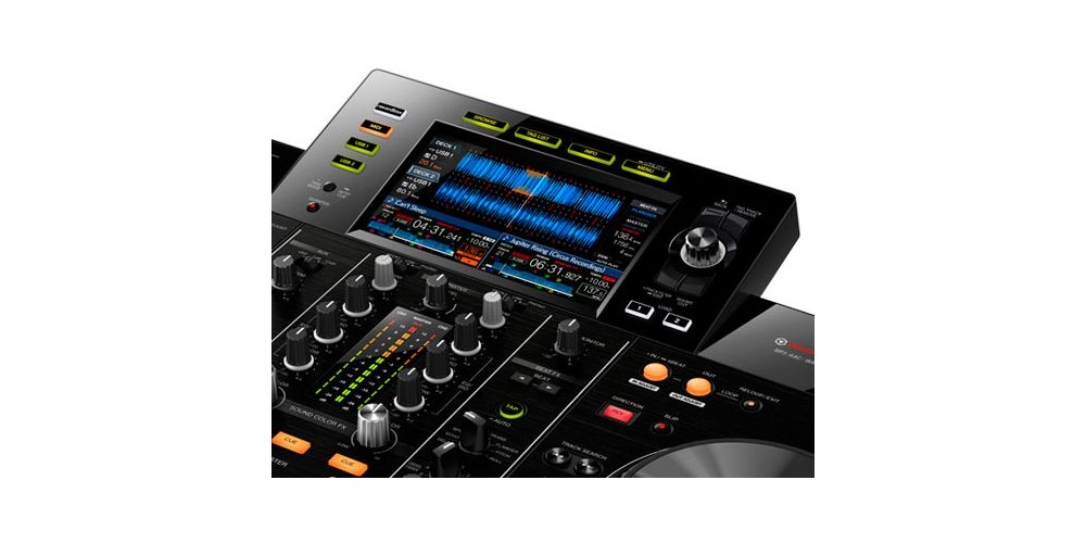 XDJ RX2 touch screen