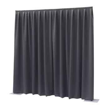 Showtec P D curtain Dimout Cortina Gris Oscuro 89447