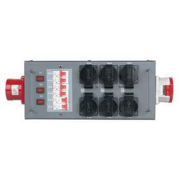 Showtec Distribuidor con Fusible 32A