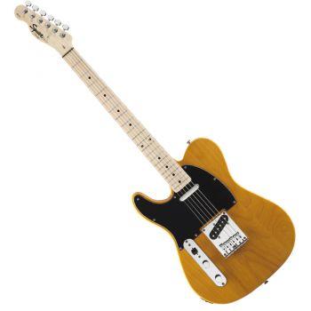 Fender Squier Affinity Telecaster Zurdo Maple Butterscotch Blonde
