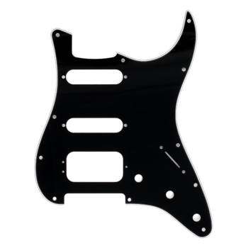 Fender Golpeador Stratocaster® H/S/S 11 Agujeros de montajec negro
