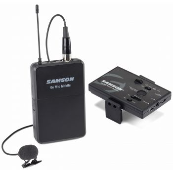 SAMSON GO MIC Mobile Lavsystem Sistema inalámbrico para Smartphones, tablets, camaras y PCs