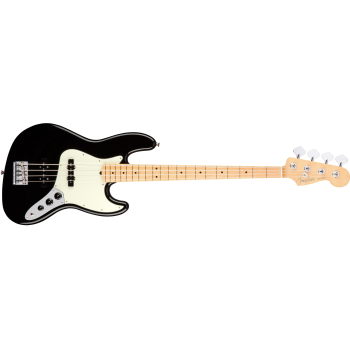 Fender American Pro Jazz Bass Maple Fingerboard Black