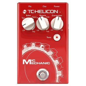 TC helicon Mic Mechanic 2 Pedal de Efectos para Voz