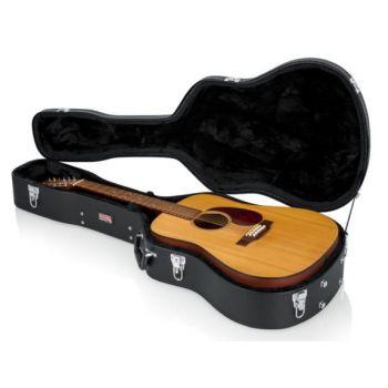 Gator GWE-DREAD12 Estuche para Guitarra Acustica Dreadnought / Madera 12ST
