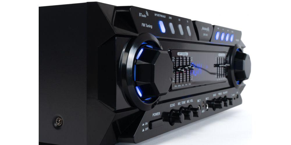 audibax zero 1000 amplificador hifi stereo bluetooth 80w
