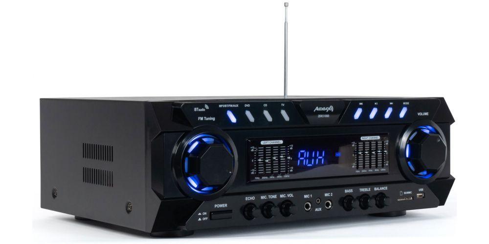 audibax zero1000 amplificador bluetooth hifi con radio