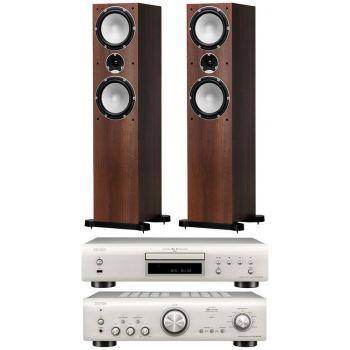 Denon PMA-800AE Si+Denon DCD-800 AE Si+Tannoy Mercury 7.4 Walnut Conjunto Hifi