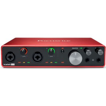 Focusrite Scarlett 8i6 3rd Gen Interface de Audio