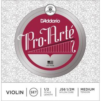 D´addario J56 Pro Arte 1/2 M Cuerdas para violín, tensión media
