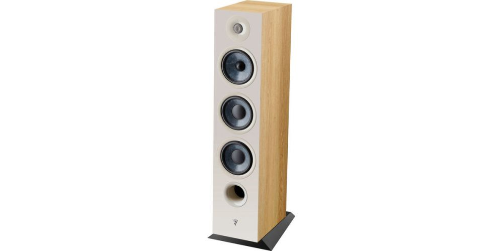 focal chora 826 walnut light  altavoces de suelo pareja