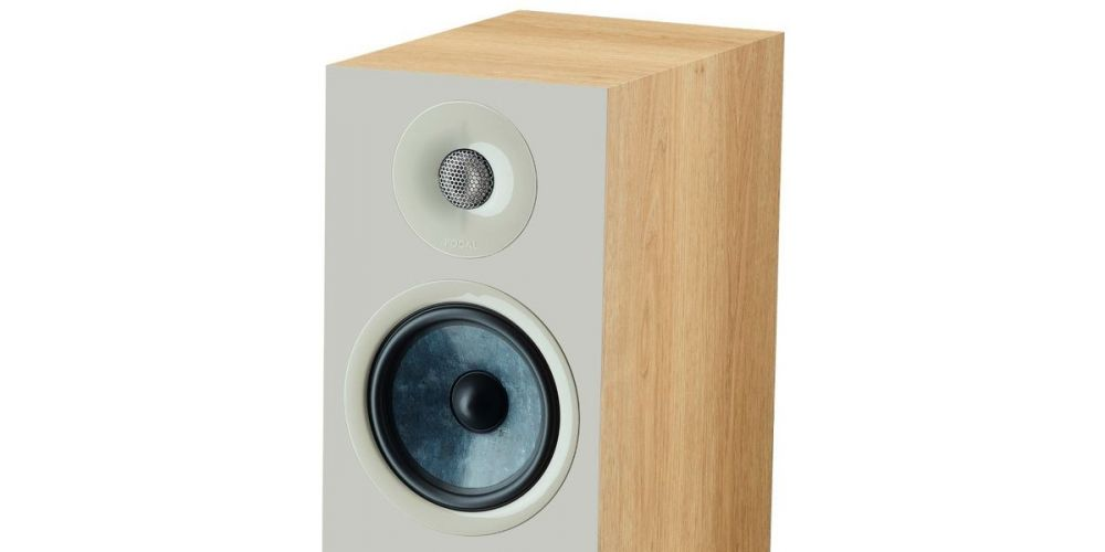 focal chora 826 walnut light  altavoces de suelo pareja medios graves tweeter