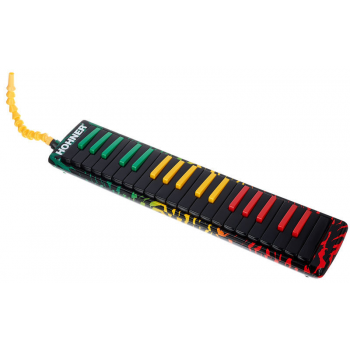 Hohner Airboard Rasta 32 Melódica 94403