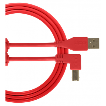 Udg U95004RD Ultimate Cable USB 2.0 A-B Red en Angulo 1M
