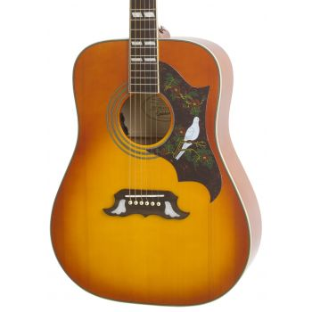 Epiphone Dove Pro Violinburst Guitarra Electroacústica