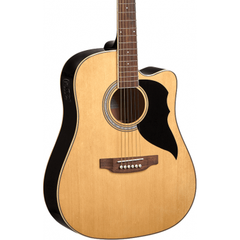 Eko Ranger VI Natural Cutaway EQ Guitarra Acustica
