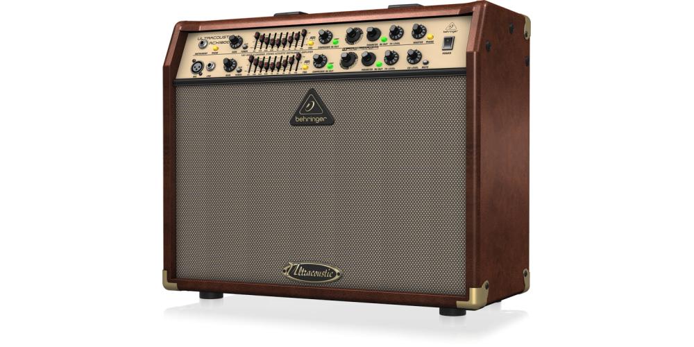 behringer acx1800 amplificador acustica
