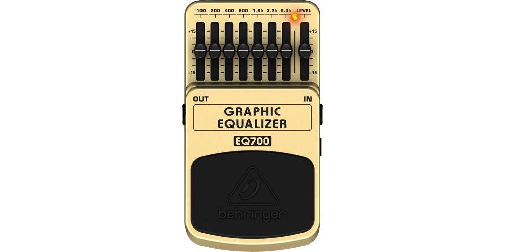 BEHRINGER Pedal  Bajo Efecto Ecualizador BEQ700 Behringer BEQ-700