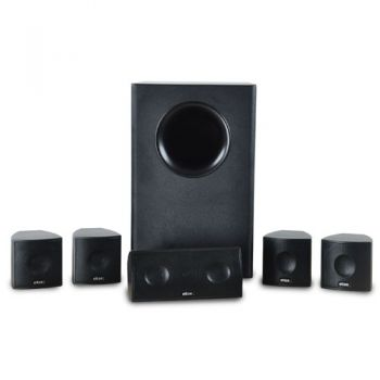 ELTAX CINEMA 5.1 Sistema Altavoces Home Cinema 5.1 NEGRO
