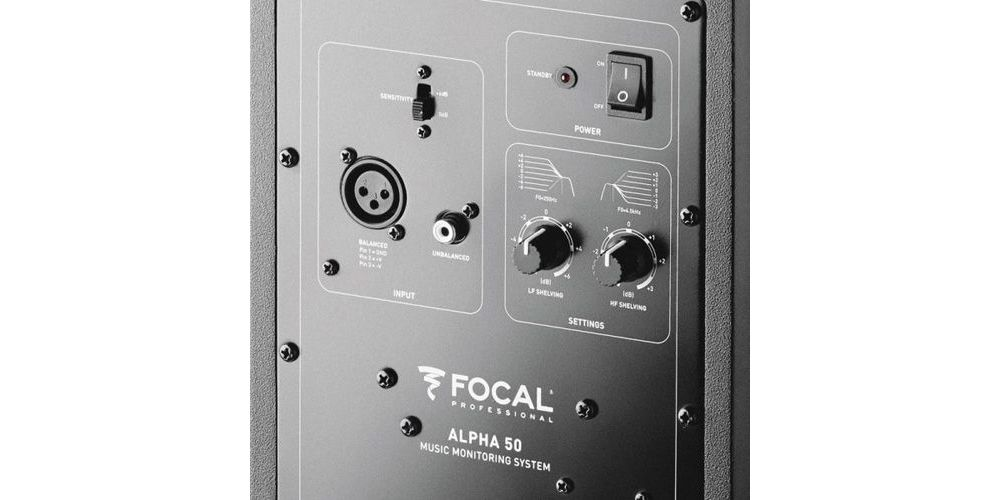 Focal alpha 50 monitor estudio