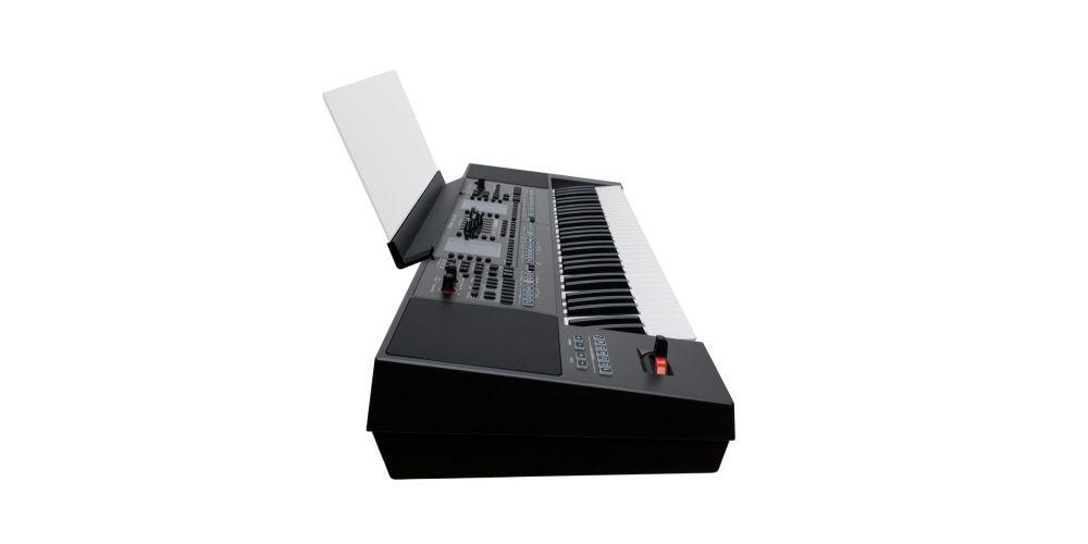 teclado roland ea7 lateral
