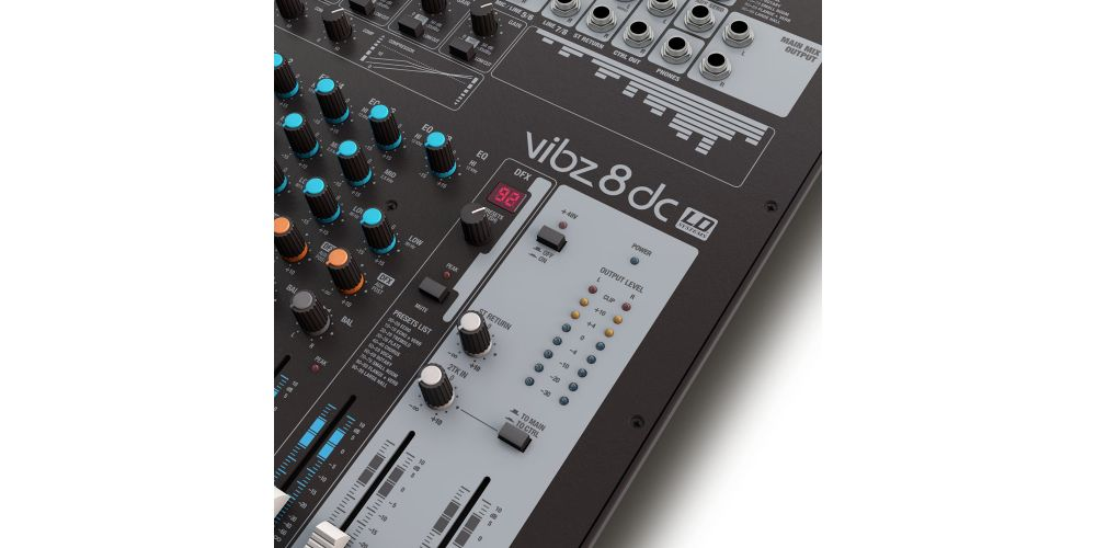 LD SYSTEMS VIBZ 8 DC Mesa Directo