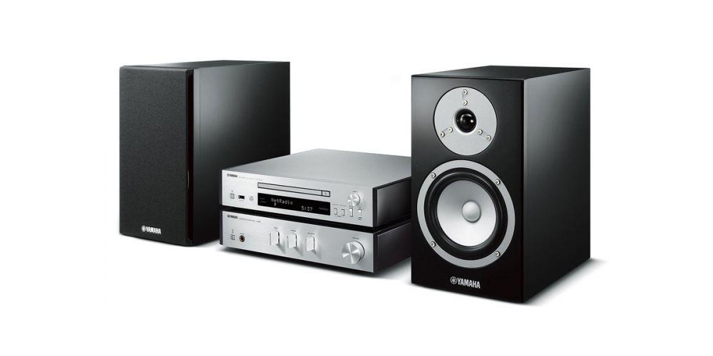 Yamaha MCR-N670 Silver Micro cadena Musiccast
