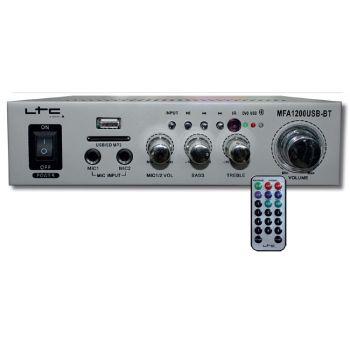 LTC MFA1200USB BT SI Amplificador Karaoke Bluetooth 2*50W