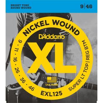 D Addario EXL-125 (009-046) Cuerdas Guitarra Eléctrica