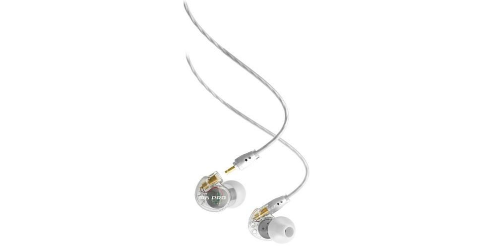 Mee Audio M6 PRO White Auriculares In Ear deportivos con micrófono