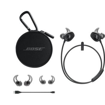 Bose SoundSport wireless Black Auriculares Bluetooth