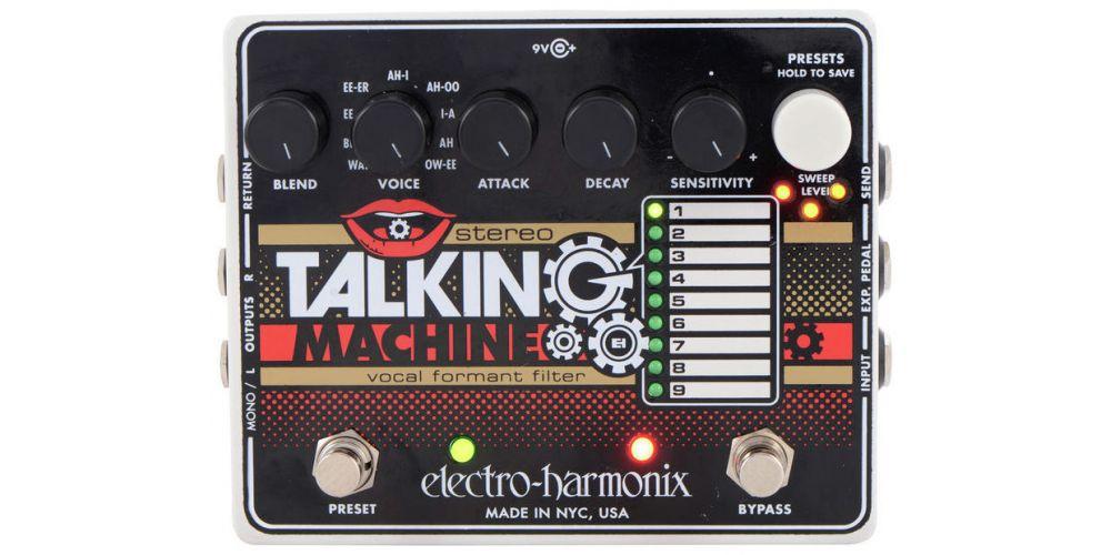 electro harmonix xo stereo talking machine 2