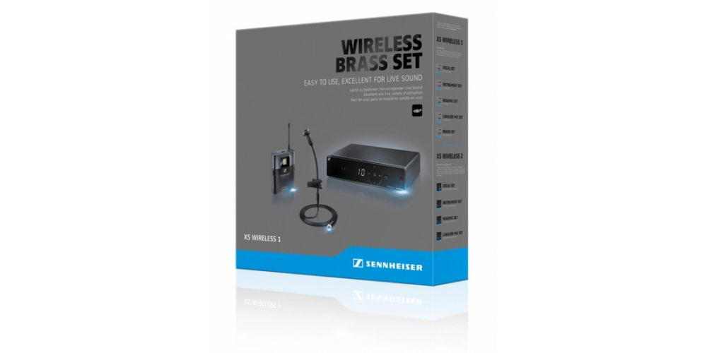 Sennheiser xsw 1 908 microfono set packaging