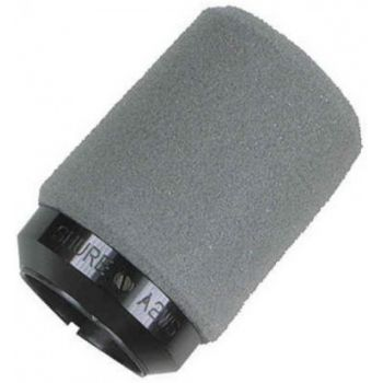 SHURE A2WS Paravientos para Microfono con Fijacion de Seguridad Gris