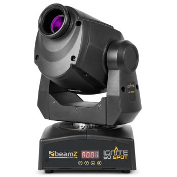 Beamz IGNITE60 Cabeza Movil LED Spot 150379