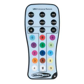Showtec UR-5 Universal IR Remote 44002