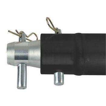 Showtec Single Tube 50mm 100 cm Tubo para Truss Negro FP50100B